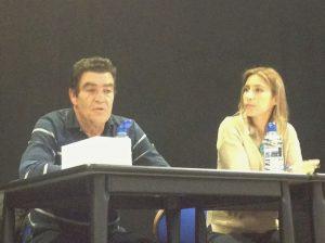 Juez D.Emilio Calatayud y María Martín Titos
