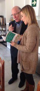 Juan Belda presidente fundador de Aldeas Infantiles SOS de España y María Martín Titos escritora y guionista especialista en diversidad familiar.